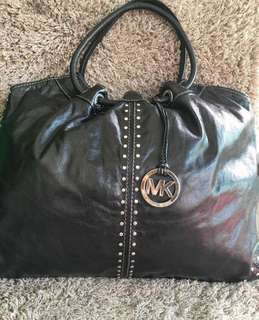 Authentic MK Leather Bag