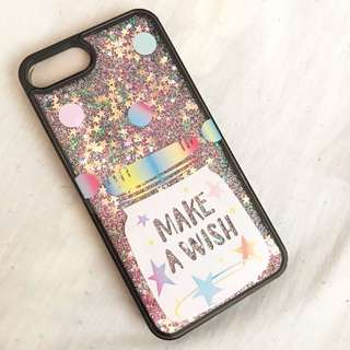 Glitter cases for iphone 7+/8+