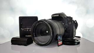 Canon 60D + 18-135mm + 75-300mm + 64GB Sandisk SDXCI