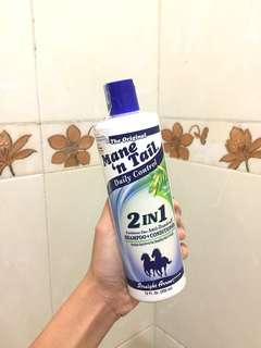 Mane n tail 2 in 1 Shampoo+Conditioner Anti Dandruff - isi 70%