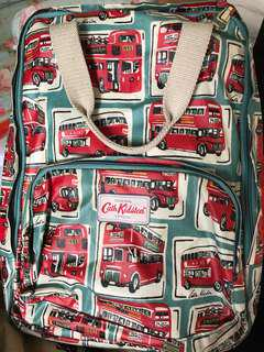 Authentic Cath Kidston London Bus Backpack