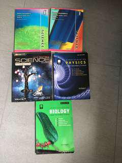 🚚 Lower secondary science guide books