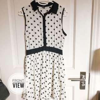 F21 polka dress