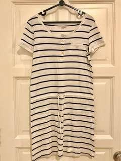 Gap Striped Tshirt Dress