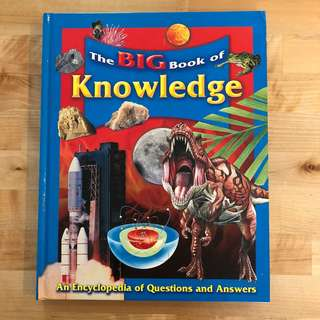 The Big Book of Knowledge (kids children book)