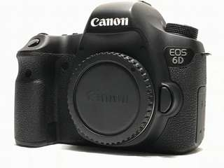 CANON EOS 6D FULLFRAME CAMERA BODY