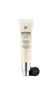 🚚 It Cosmetics Bye Bye Pores Primer