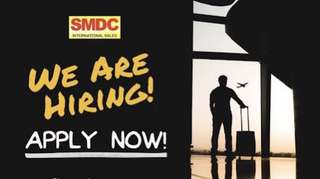 Hiring SMDC International Property Specialist