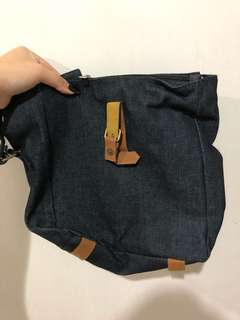 Tas Sling Bag Denim
