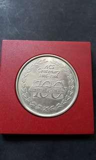 1886-1986 Acs centenary.