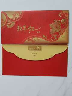 Silk air red packet