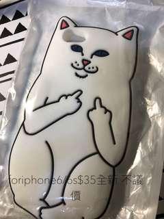 中指貓 ripndip iphone6/6s phonecase case手機殼