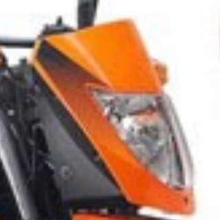 Front Orange Headlamp Cover