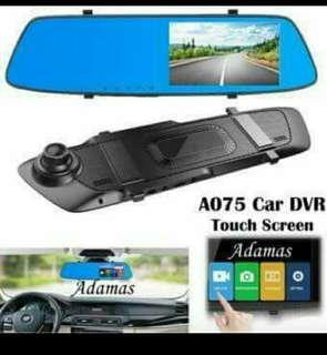 A075 touch screen car DVR