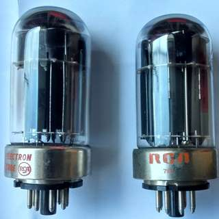 USA RCA 6080 Vintage Power Tube Valve