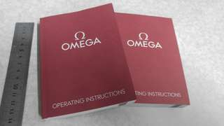 亞米茄 OMEGA Operating instructions Booklet