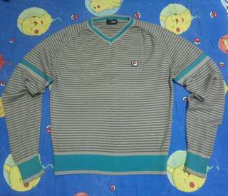 Fila V-neck knitwear