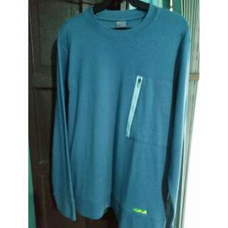 ORIGINAL Men's Nike Gray Pullover Sweat Shirt