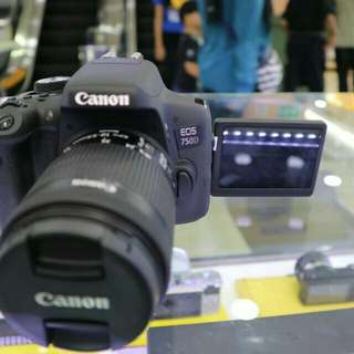 Kredit Kamera Canon EOS 750D