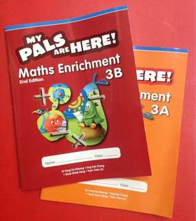 MY PALS ARE HERE! Math Enrichment 3A 3B