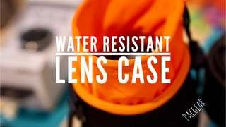 Water Resistant Neoprene Lens Pouch Case Sigma Rokinon Samyang Tamron Canon Sony E-mount Lens
