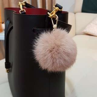 Brandnew Authentic Furla Fox Fur Charm