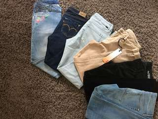 Skinny Jeans/jeggings/loose Boyfriend Pants(jeans)