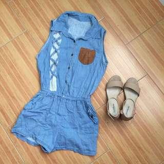 Soft Denim jumpsuit
