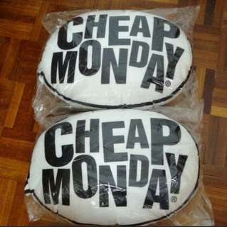 #FreePostage Cheap Monday Pillows - Set of 2