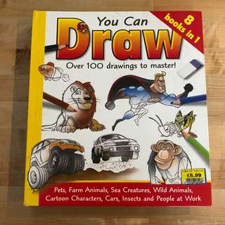 You Can Draw (Kids and Children Book)