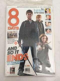 Harry Potter 8 days magazine