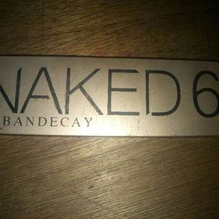 Urban Decay Naked6 Eye Shadow Palette