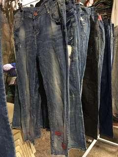mixed pants