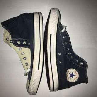 Jual converse CT canvas Hi Navy