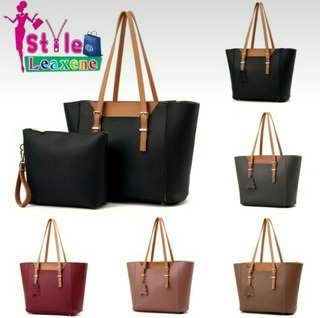 Hartley Large Tote Bag with Pouch