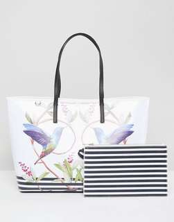 Ted Baker High Grove Canvas Shopper Tote Bag 手挽袋