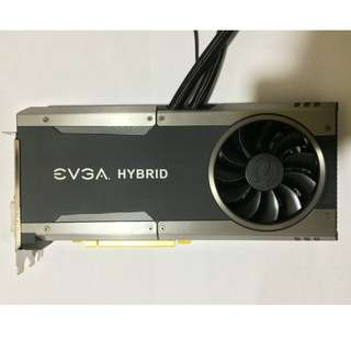 EVGA GeForce GTX 1070 FTW GAMING, 08G-P4-6278-KR, 8GB GDDR5, HYBRID & RGB LED
