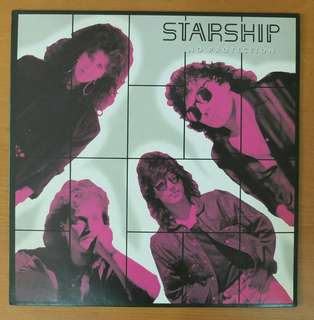 80's Pop Vinyl LP: Starship <No Protection> (1987)