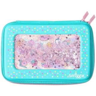 Smiggle Hardtop Pencil Case Glitter Dreamy / Shimmy Shake