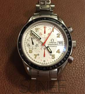 OMEGA-SPEEDMASTER  全鋼自動計時手錶