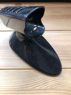 Hot straightening/ curling iron holder