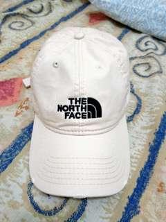 歐美 THE NORTH FACE 北臉 刷破 米色 老帽