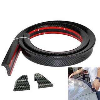 3D carbon spoiler