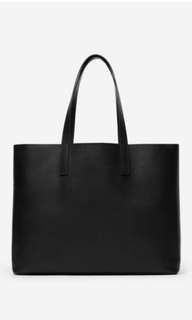 Everlane Day Market Tote Black (MSRP: $225SGD + $50SHIPPING)