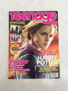 Teenage Magazine Emma Watsons Issue 263