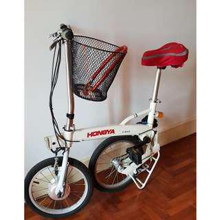 🚚 Ultra Light Foldable E-bike
