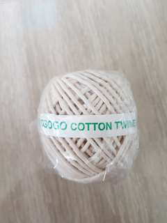Selling cotton twine at $1 each