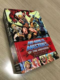 Masters Of The Universe Motu Classic He-man Minicomics Super Collectible Book