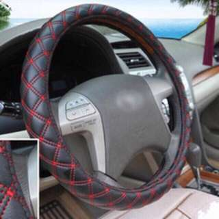Steering wheel cover with Red Cross line sing S M L