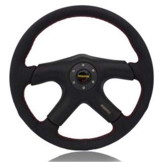 "Momo steering 13"" PU sporty type"
